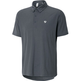 Ziener Canot Polo Shirt Men ebony